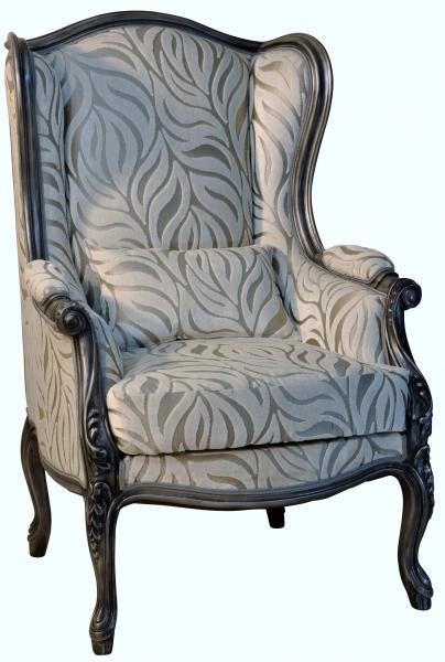 Bergere a oreille en tissu fabrication francaise de qualite meubles duquesnoy lille