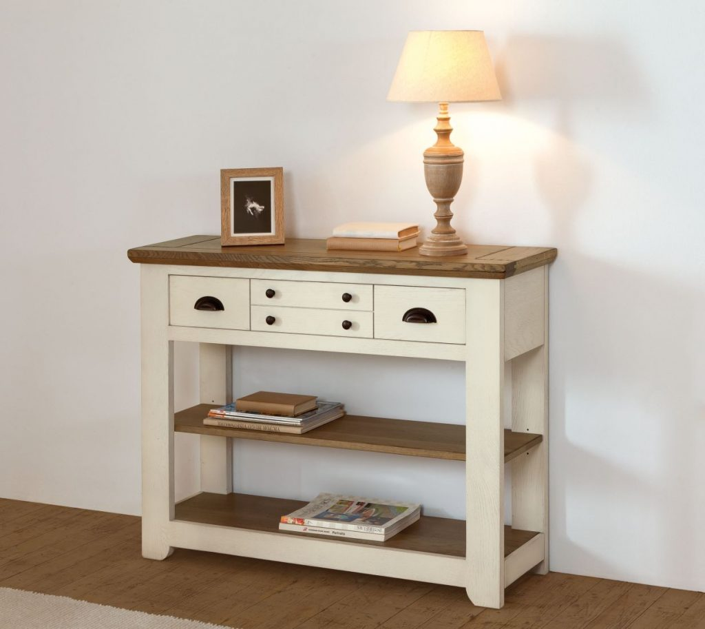 console collection romance en chene massif de france ateliers de langres chez meubles duquesnoy frelinghien nord