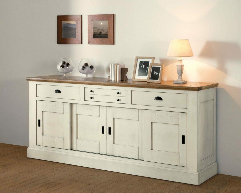 Enfilade salle a manger romance en chene massif de france ateliers de langres chez meubles duquesnoy frelinghien nord