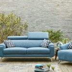 Canapé cerise Fabrication francaise meubles Duquesnoy Frelinghien Nord Lille