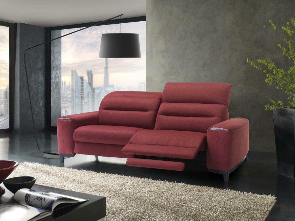 canape relaxation lalik satis en tissu ou cuir meubles duquesnoy frelinghien nord lille