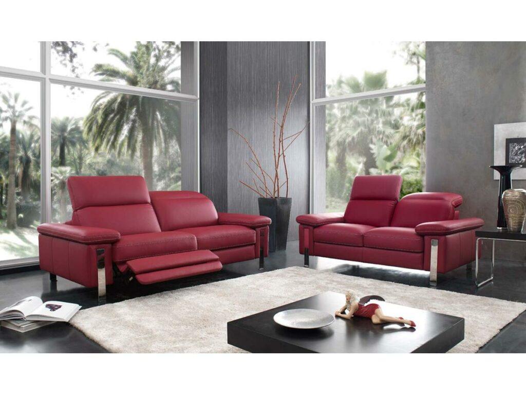 canape relaxation palace bardi en cuir meubles duquesnoy frelinghien nord lille