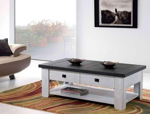 table basse whitney en chene massif fabrication francaise meubles duquesnoy frelinghien nord lille