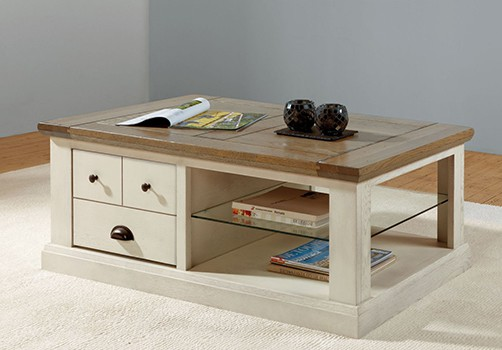 table basse en chene massif fabrication francaise meubles duquesnoy frelinghien nord lille