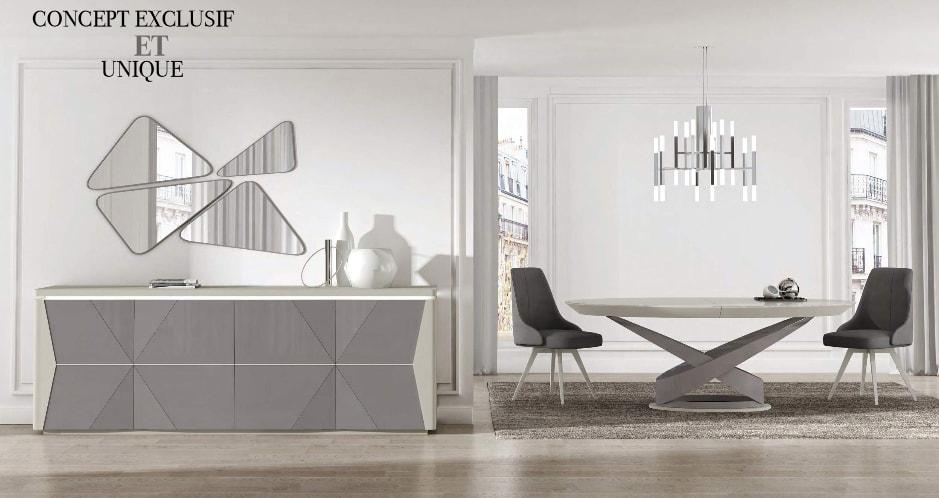 table ovale varzzy evanyrouse plateau chene ou ceramique meubles duquesnoy frelinghien 59236 lille nord