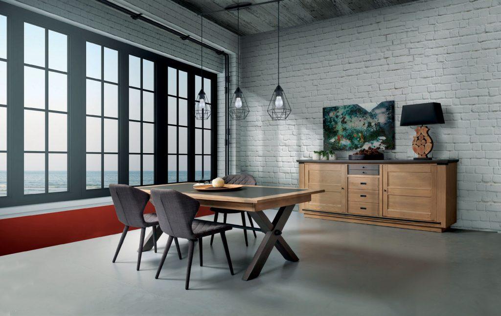 salle a manger magellan ateliers de langres meubles duquesnoy frelinghien nord lille armentieres