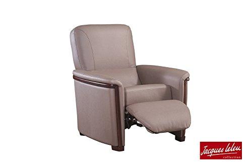 Fauteuil de relaxation RIALTO jacques leleu fabrication francaise meubles duquesnoy frelinghien nord lille armentieres