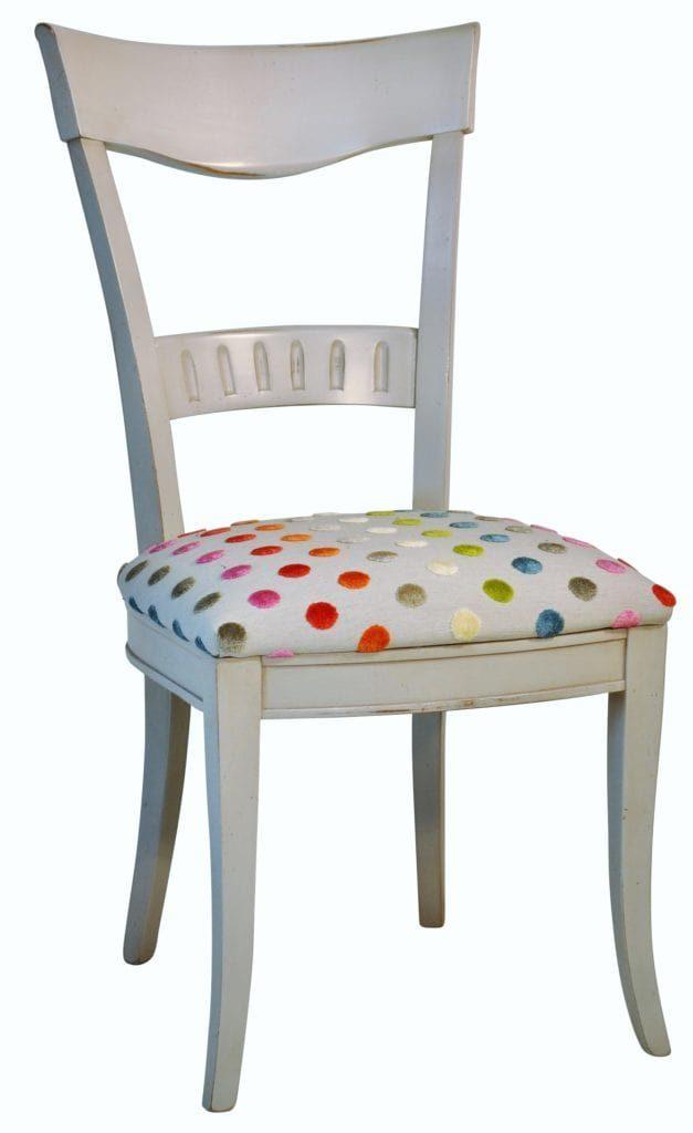 chaise revue pois meubles duquesnoy frelinghien nord lille armentieres