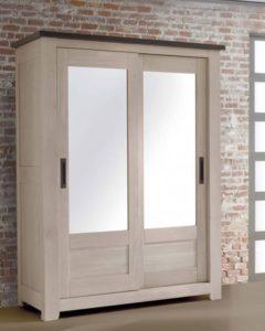 armoire withney chene massif ateliers de langres meubles duquesnoy frelinghien nord lille armentieres