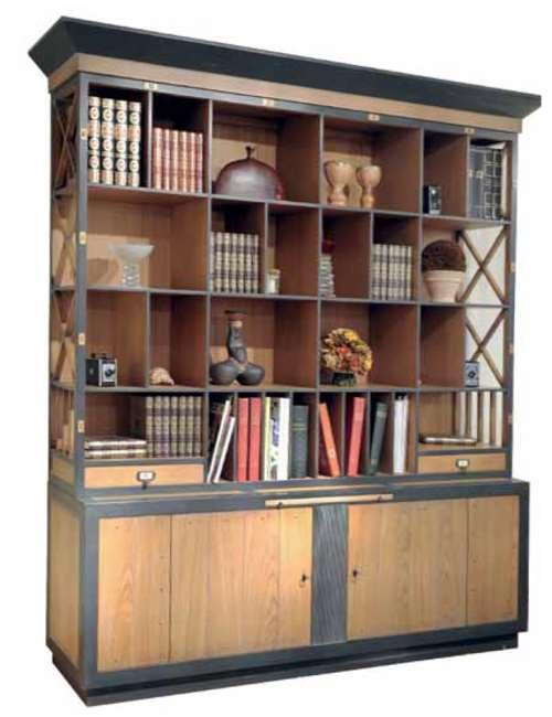 bibliotheque bristol en chene meubles duquesnoy frelinghien nord lille