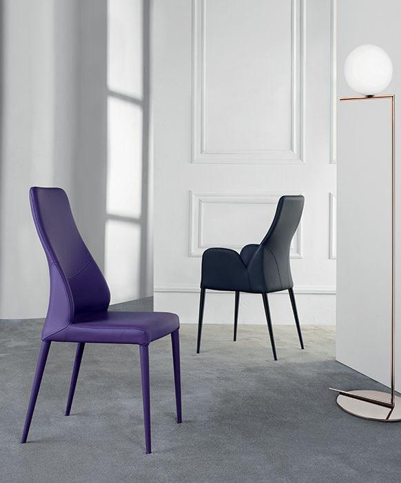 chaise mathilde Pietement en métal europea meubles duquesnoy frelinghien nord lille armentieres