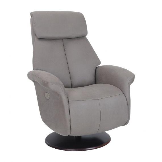 fauteuil de relaxation Electrique en cuir hambourg meubles duquesnoy frelinghien nord lille armentieres