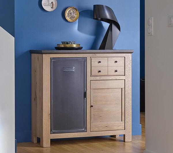 meuble d'entree industriel madison couture meubles duquesnoy frelinghien nord lille