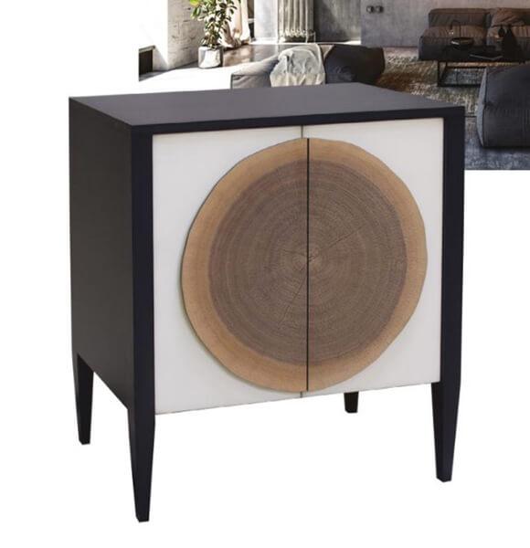 meuble d'entree natural batel meubles duquesnoy frelinghien nord lille