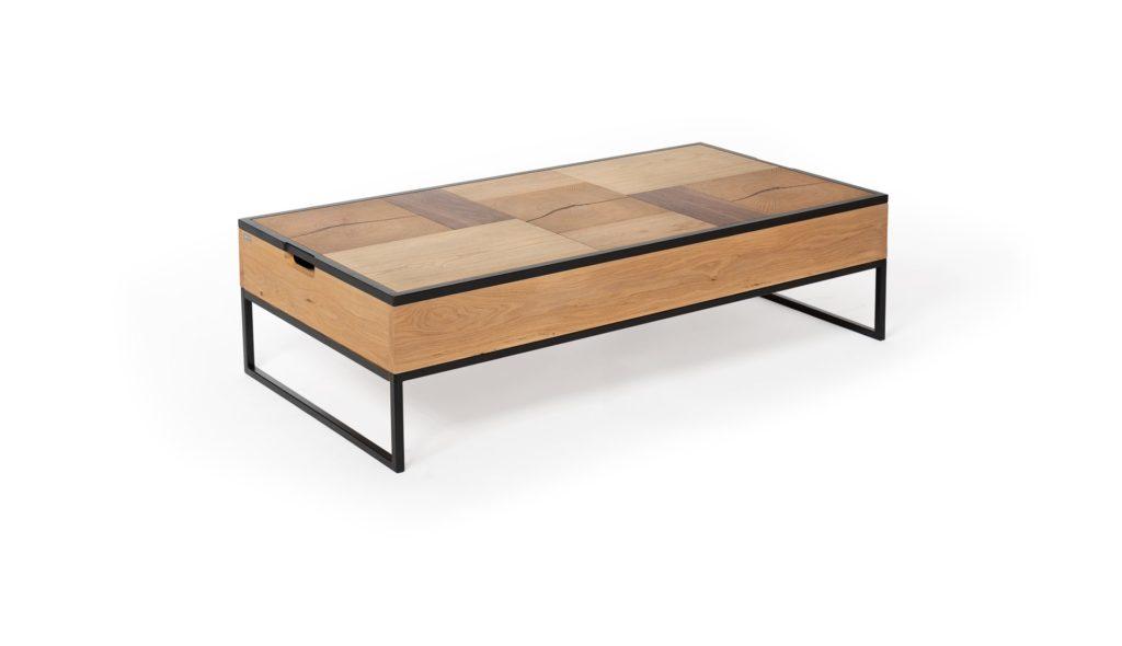 Table basse DUO de Ralph m Fabrication francaise meubles duquesnoy frelinghien nord lille armentieres