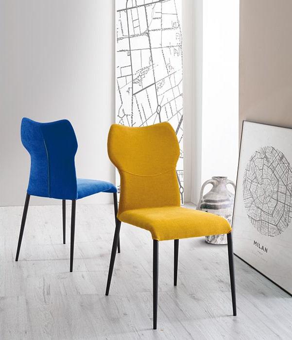chaise contemporaine jade europea fabrication italienne meubles duquesnoy frelinghien nord lille