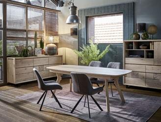 ambiance EDEN chene massif ateliers de langres meubles duquesnoy frelinghien nord lille armentieres