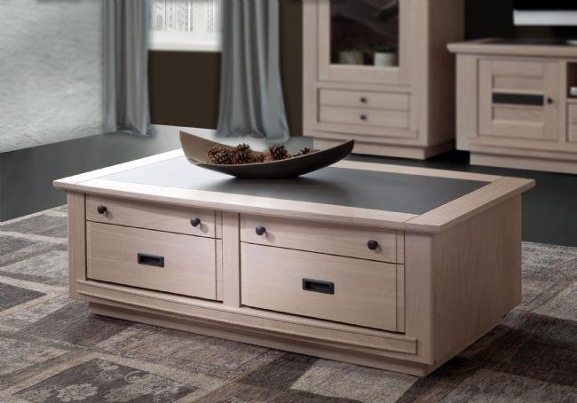 Table basse belem fabrication francaiise ateliers de langres meubles duquesnoy frelinghien nord lille armentieres