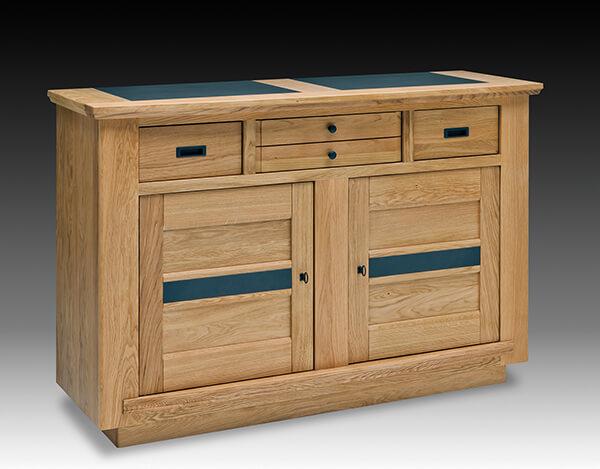 buffet 2 portes belem fabrication francaiise ateliers de langres meubles duquesnoy frelinghien nord lille armentieres