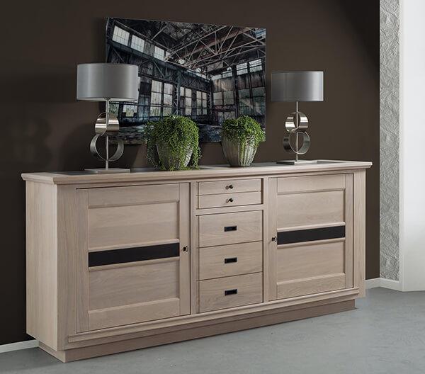 buffet 3 portes belem fabrication francaiise ateliers de langres meubles duquesnoy frelinghien nord lille armentieres