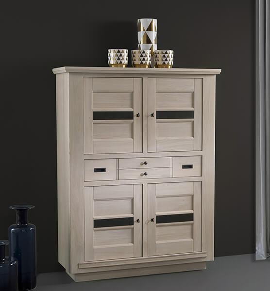 meuble haut 4 portes belem fabrication francaiise ateliers de langres meubles duquesnoy frelinghien nord lille armentieres