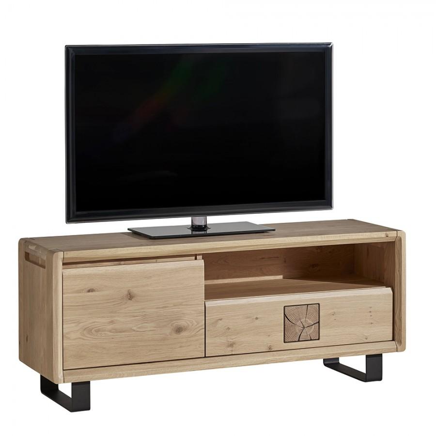 meuble tv EDEN chene massif ateliers de langres meubles duquesnoy frelinghien nord lille armentieres