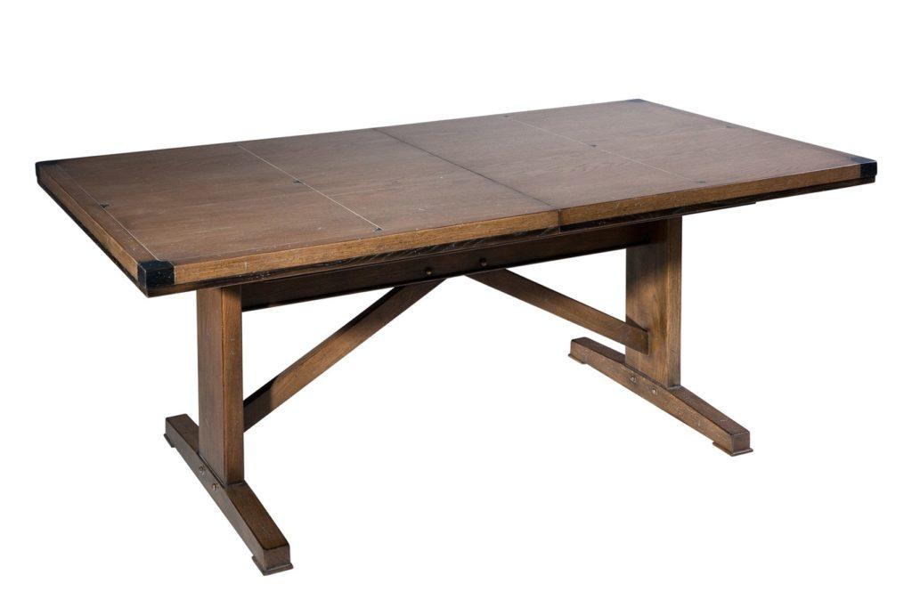 Table rectangulaire loft /brasserie chene massif michel ferrand Meubles DUQUESNOY frelinghien Nord lille
