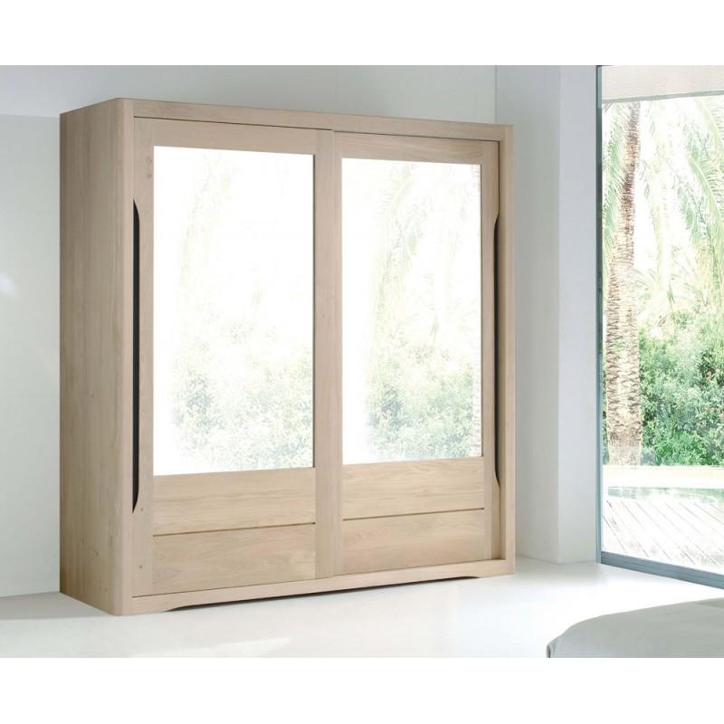 Chambre armoire lilou en chene ateliers de langres meubles duquesnoy frelinghien nord lille