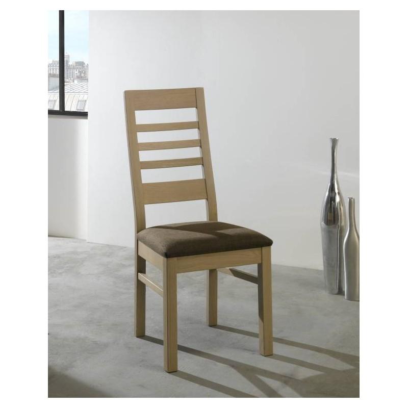 salle a manger whitney chaise whitney en chene massif teinte naturel dessus ardoise fabrication francaise ateliers de langres meubles duquesnoy frelinghien