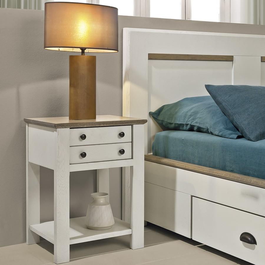 chambre romance chevet en chene massif ateliers de langres meubles duquesnoy frelinghien nord