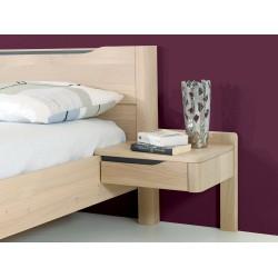 Chambre chevet lilou en chene ateliers de langres meubles duquesnoy frelinghien nord lille