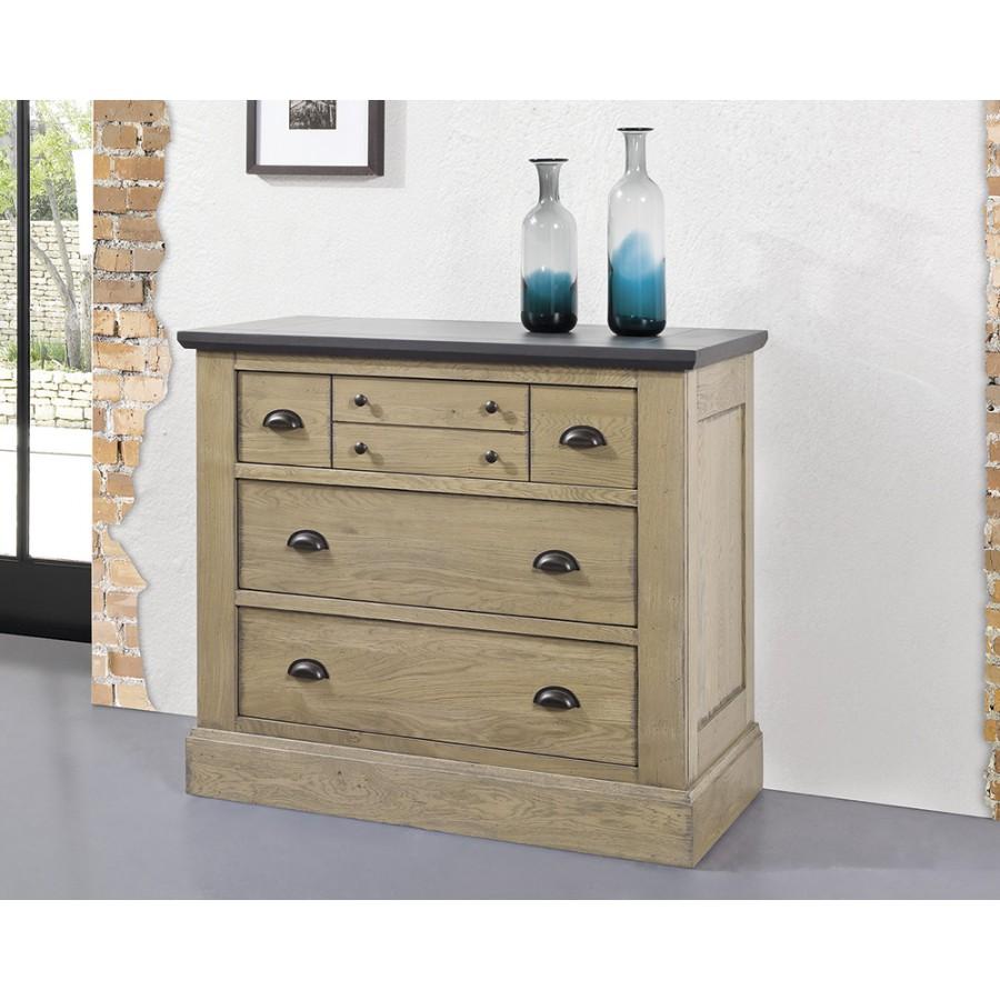 chambre romance commode en chene massif ateliers de langres meubles duquesnoy frelinghien nord