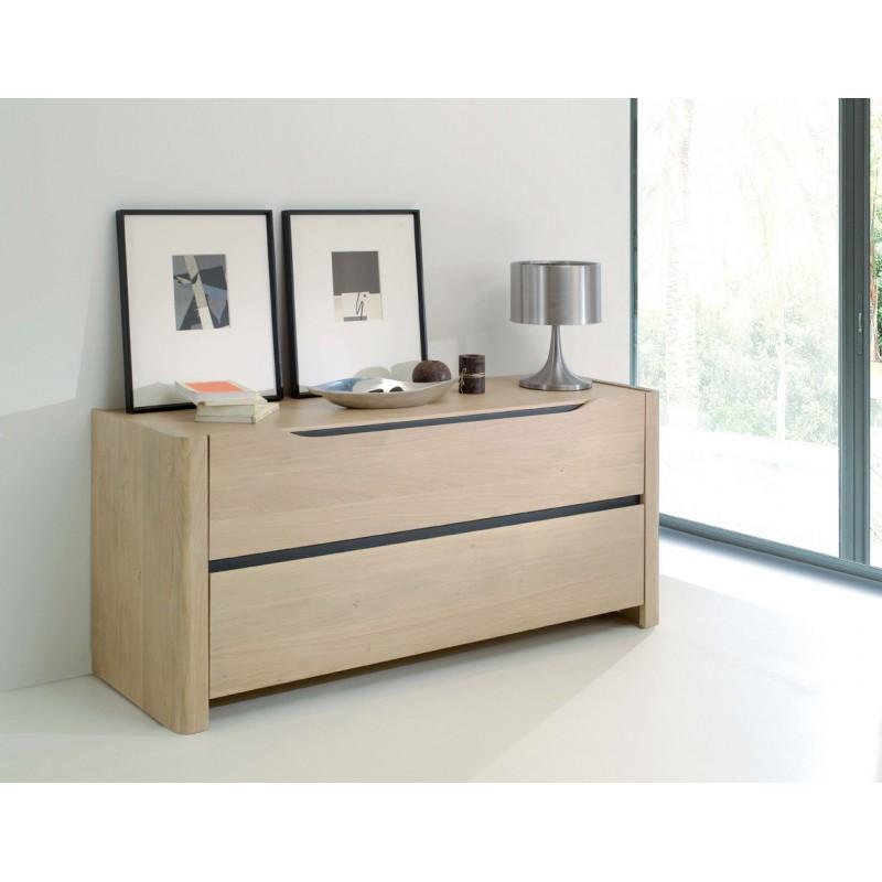 Chambre commode lilou en chene ateliers de langres meubles duquesnoy frelinghien nord lille