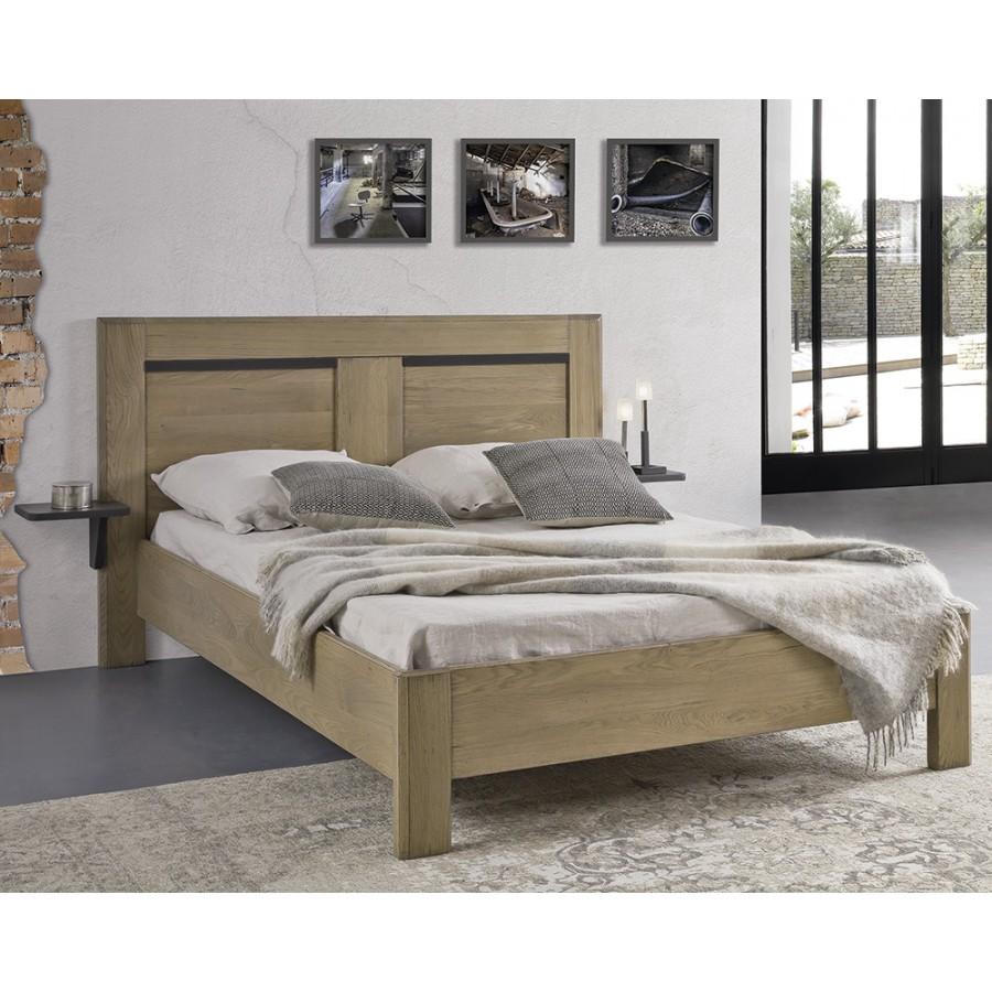 chambre romance lit en chene massif ateliers de langres meubles duquesnoy frelinghien nord