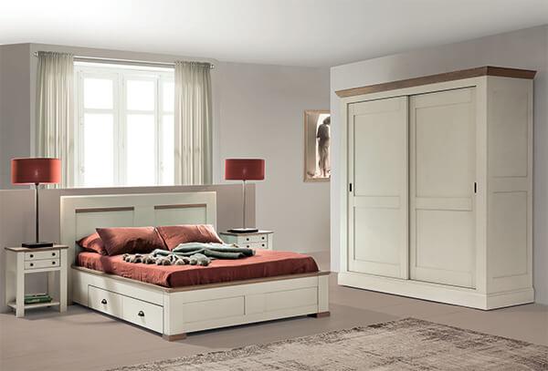 chambre romance en chene massif ateliers de langres meubles duquesnoy frelinghien nord