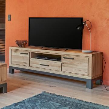 SALLE A MANGER MEUBLE TV FOREST EN CHENE MEUBLES DUQUESNOY FRELINGHIEN NORD LILLE ARMENTIERES