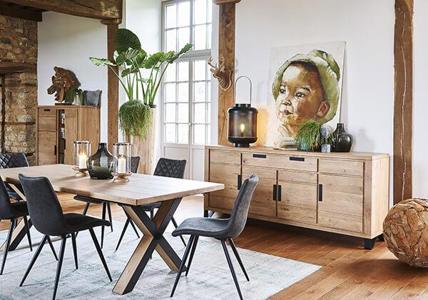 salle a manger hudson meuble table de repas hudson meubles duquesnoy frelinghien nord lille armentieres