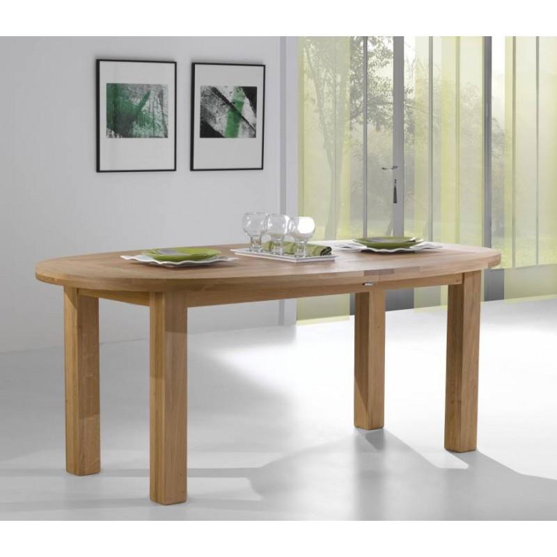 salle a manger whitney table ovale whitney en chene massif teinte naturel dessus ardoise fabrication francaise ateliers de langres meubles duquesnoy frelinghien