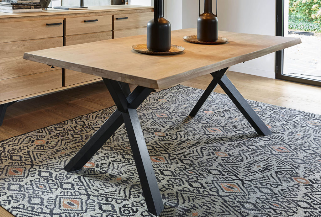 salle a manger Nomade meuble table de repas Nomade meubles duquesnoy frelinghien nord lille armentieres
