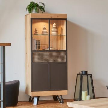 Colonne basse 1 porte Fusion Couture meubles duquesnoy frelinghien nord lille armentieres