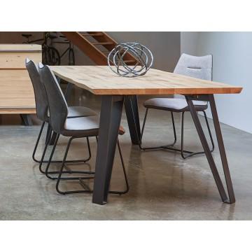 Table rectangulaire Fusion Couture meubles duquesnoy frelinghien nord lille armentieres