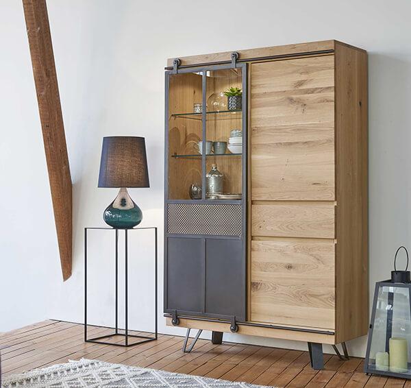 vitrine industrielle Fusion Couture meubles duquesnoy frelinghien nord lille armentieres