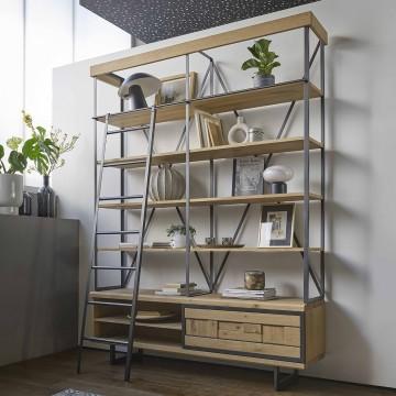 bibliotgeque ouverte prima couture meubles duquesnoy frelinghien nord lille armentieres