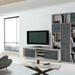 composition tv zen en chene massif grisé atelier de langres fabrication francaise meubles duquesnoy nord