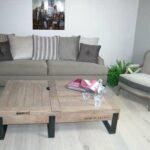 Table Basse RIVOLI chene massif Fabrication Française meuble haut de gamme meubles dUQUESNOY Frelinghien nord lille