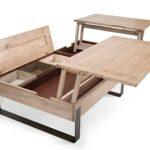 Table Basse RIVOLI bois massif fabrication Francaise Meubles DUQUESNOY Frelinghien nord lille